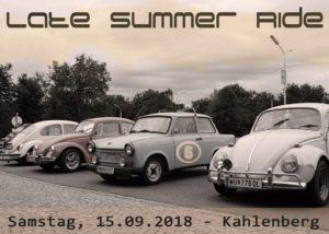 """Ausflug VW Treffen """"Late Summer Ride"""""""